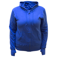 Picture of Ladies Zip Hoody